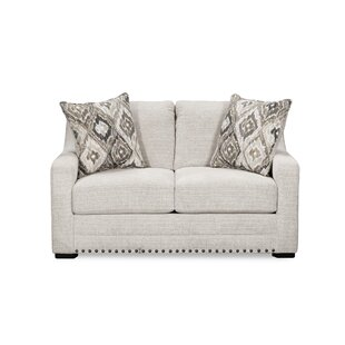 Three Posts Swanigan Loveseat by Simmons Upholstery