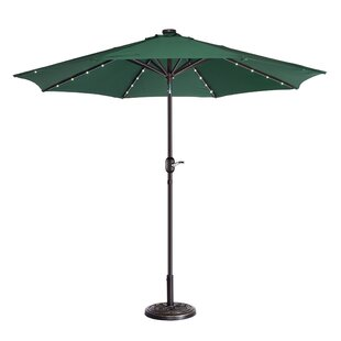 Coggeshall LED Lighted 9' Market Umbrella by Freeport Park