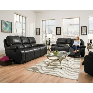 Latitude Run Weddington Reclining 2 Piece Living Room Set