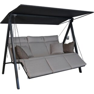 Sagunto Swing Seat With Stand By Sol 72 Outdoor