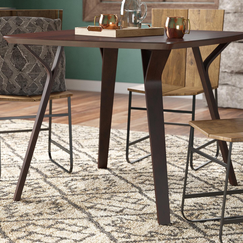 Union Rustic Thornton Mid Century Modern Dining Table U0026 Reviews | Wayfair