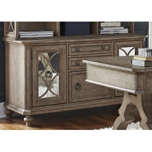 Buy clear Sibylla Credenza Desk By Birch Lane™
