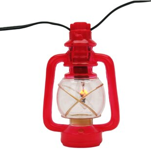 Rivers Edge 10-Light Lantern String Lights