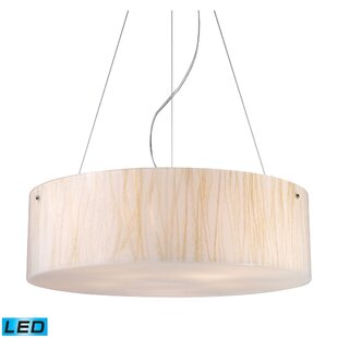 Bay Isle Home Panama City 5-Light Drum Chandelier