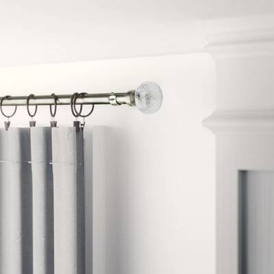 Iron Swinging Door Curtain Rod  WILL NOT SAG Guaranteed to cure them draughts