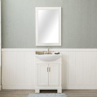 Amansara 24 Single Bathroom Vanity Set with Mirror by Winston Porter