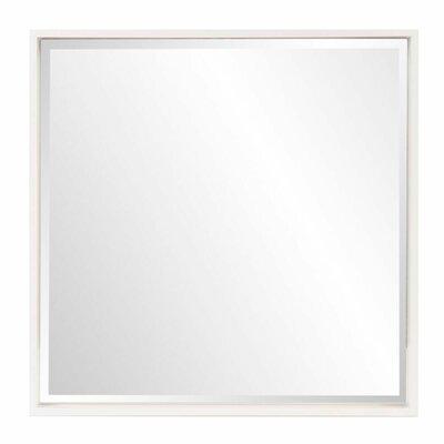 Brayden Studio Swind Bright Accent Mirror Finish: White