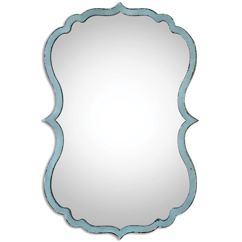 Traditional Distressed Accent Mirror