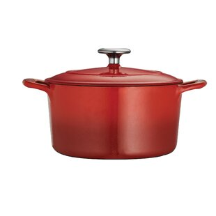 Gourmet Enameled Cast Iron 3.5 Qt. Round Dutch Oven By Tramontina