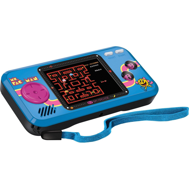 My Arcade Ms Pac Man Pocket Player Handheld Game Wayfair
