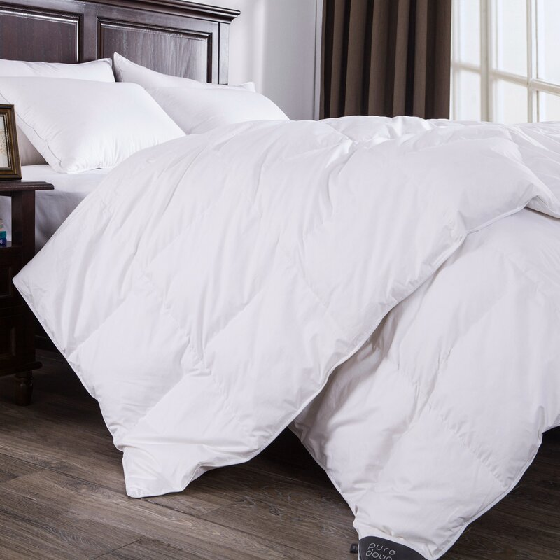 skin high insert down duvet home comforter quality peach item bedding alternative white lightweight fabric textile puredown