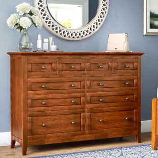 Darby Home Co Barstow 10 Drawer Standard Dre..
