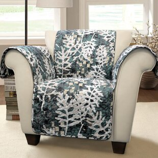 Caballero Leaves Box Cushion Armchair Slipcover