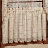 Short Kitchen Window Curtains | Wayfair