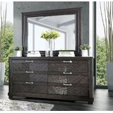 Theriot 6 Drawer Double Dresser by Mercer41