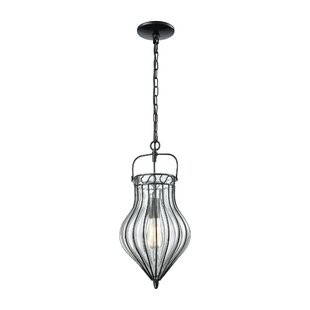 August Grove Orly 1-Light Urn Pendant