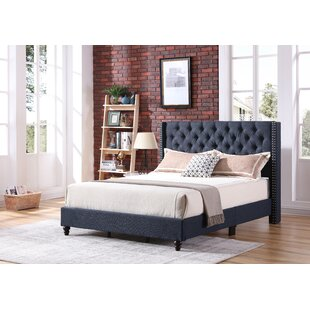 Connolly Upholstered Panel Bed by Mercer41