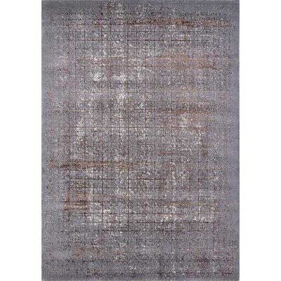 Lacey Modern Vintage Light Grey Bronze Area Rug