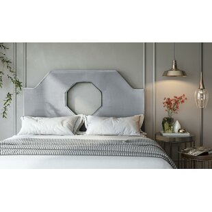 Best Price Adela Upholstered Panel Headboard by Wrought Studio