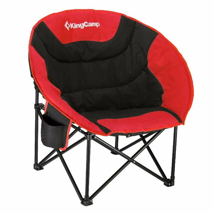 Magnificent Moon Saucer Folding Camping Chair With Carry Bag Theyellowbook Wood Chair Design Ideas Theyellowbookinfo