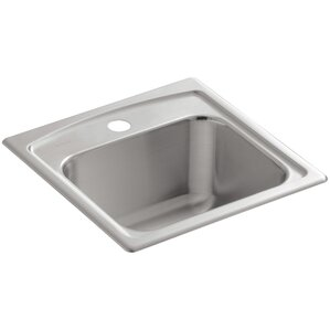 Kohler Toccata Top-Mount Bar Sink with Single Faucet Hole