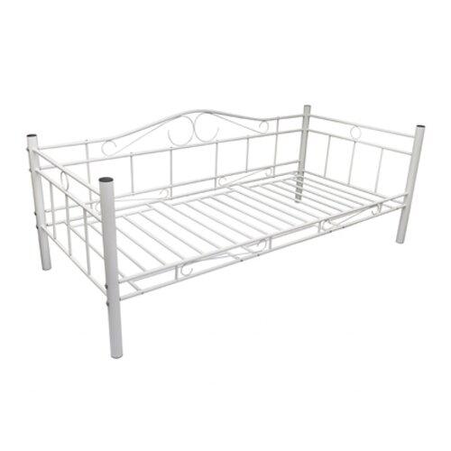 Tagesbett | Schlafzimmer > Schlafsofas > Schlafsofas & Polsterliegen | Weiß | Metall | Home Etc