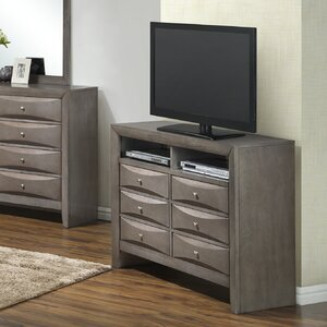 Leonis 6 Drawer Media Chest by Latitude Run