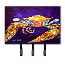 The Right Stuff Crab Leash Holder and Key Hook by Caroline's Treasures