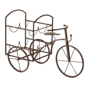 Lorry Tricycle 4 Bottle Wine Rack TAG