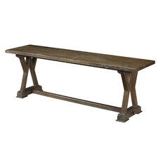 Pyrenees Wood Dining Bench by French Heritage