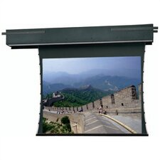 Tensioned Executive Electrol 84 Diagonal Electric Projection Screen by Da-Lite