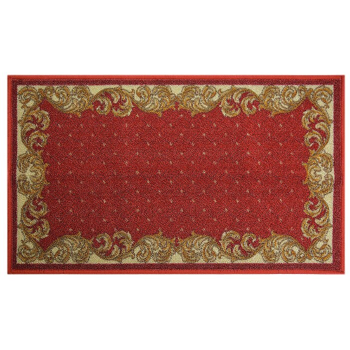 Gorney Traditional Veronica Border Kitchen Mat