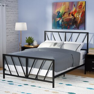 Reese Patterned Queen Panel Bed by Turn on the Brights