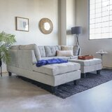 Worksop 103 Sectional with Ottoman by Ebern Designs