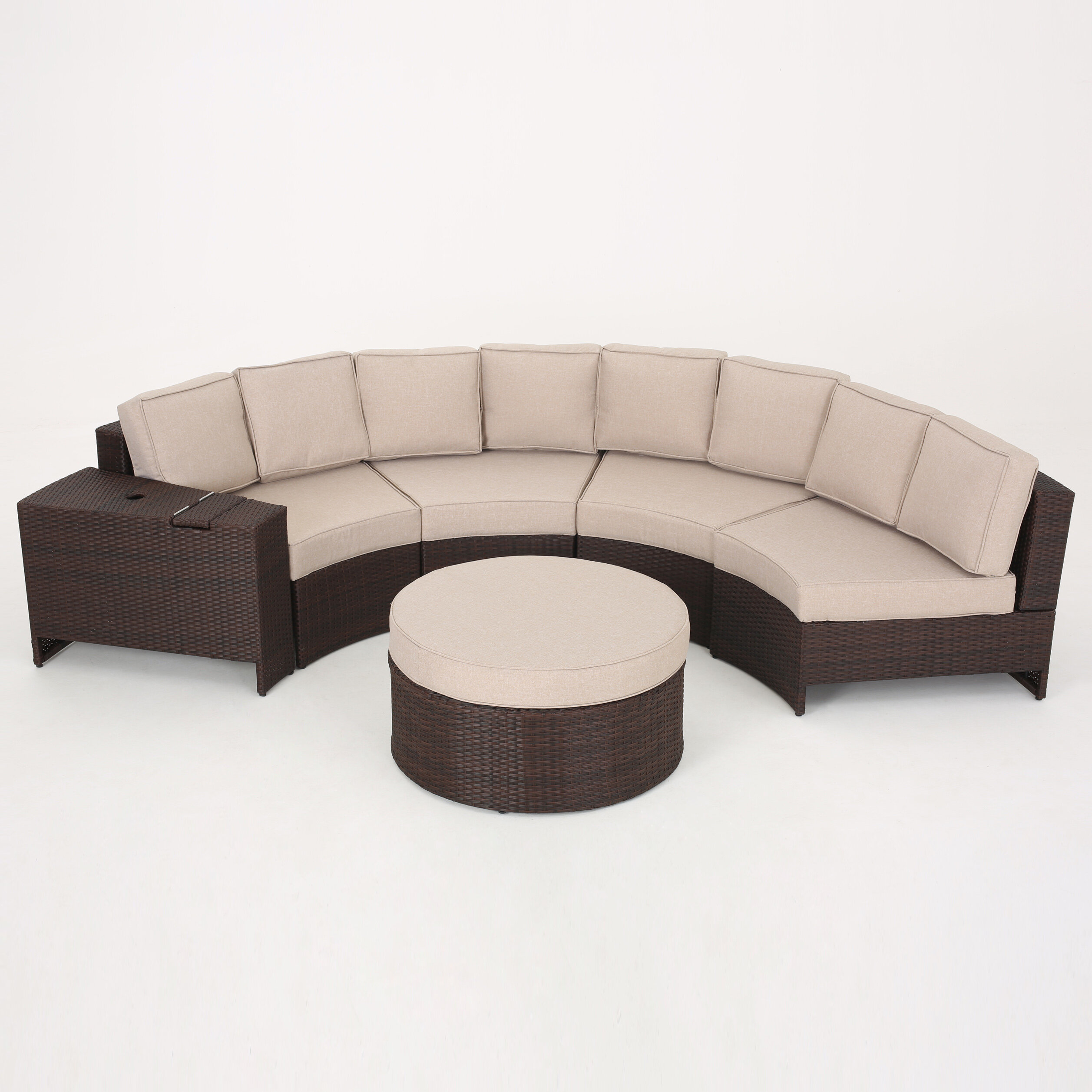 Bermuda 6 Piece Sectional Set with Cushions & Reviews   Joss & Main