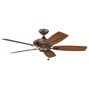 Order 52 Princeton 5-Blade Patio Ceiling Fan By Andover Mills