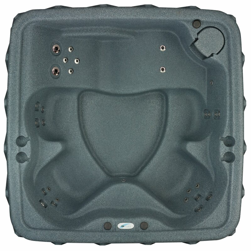 Premium 500 5-Person 29-Jet Plug and Play Hot Tub with Heater and Waterfall