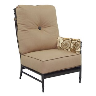 Leona Provence Left End Patio Chair with ..