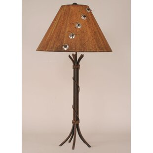 Inexpensive Rustic Living 32 Table Lamp By Coast Lamp Mfg.