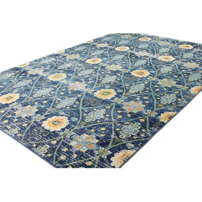 9 X 12 Floral Amp Plant Blue Rugs You Ll Love In 2019