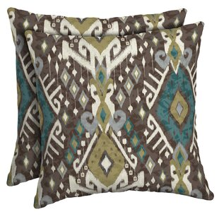 Partlow Outdoor Throw Pillow (Set of 2) By Bloomsbury Market