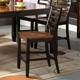 Inexpensive Trevino Counter Height Bar Stool (Set of 2) by Loon Peak Reviews (2019) & Buyer's Guide