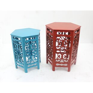 Hildeburg 2 Piece End Table
