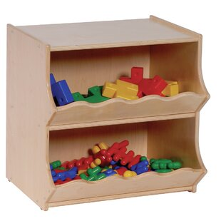 Price comparison 2 Compartment Cubby with Casters By Angeles