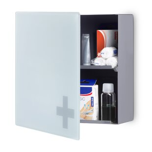 13.79 x 13.79  Wall Mounted Cabinet by Blomus