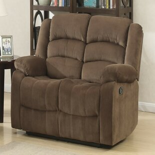 Mullens Leather Reclining Loveseat