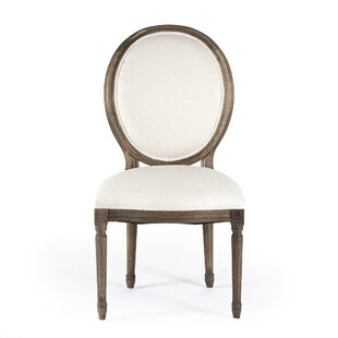Arvidson Side Chair in Linen - Natural by..