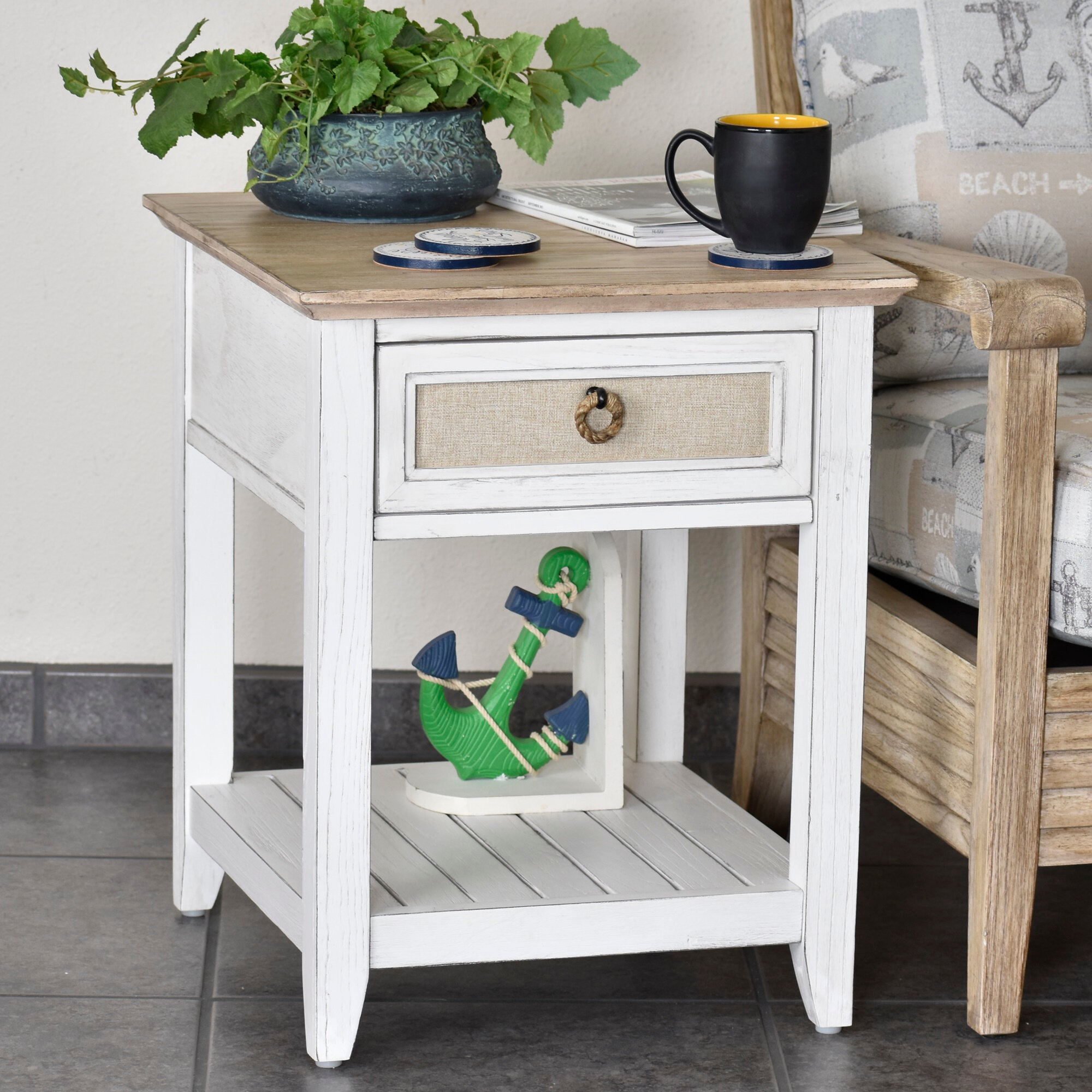 Rosecliff Heights Juliet Island End Table With Storage Wayfair
