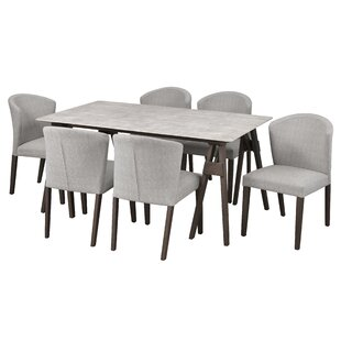 Macclesfield 7 Piece Dining Set by Gracie..