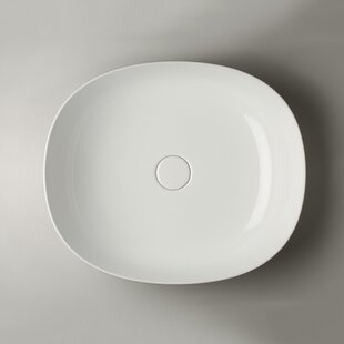 Best Choices Pod Ceramic Specialty Vessel Bathroom Sink ByWS Bath Collections